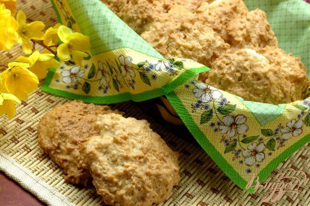 Рецепт Печенье белковое с кокосом