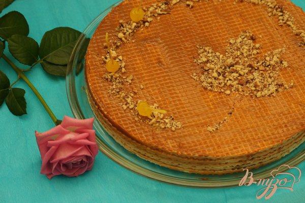 Рецепт Вафельный торт со сгущенкой