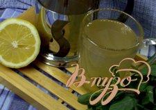 Рецепт Имбирно-лимонный напиток
