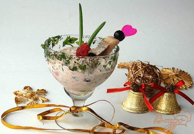 фото рецепта: Сельдь в ягодном соусе