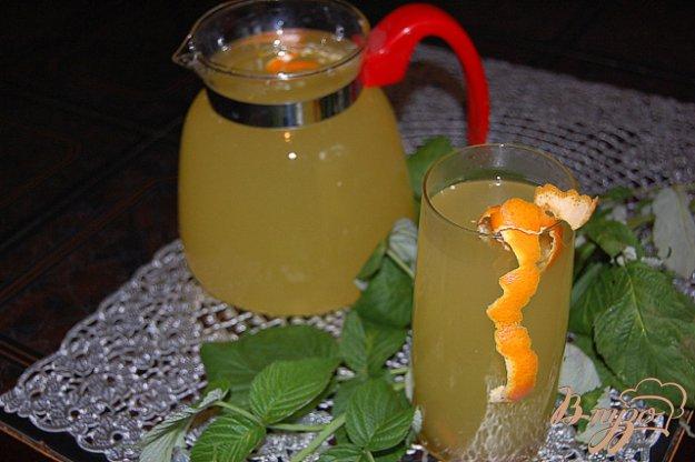 """Рецепт Напиток """"Апельсиново-лимонная бомба"""""""