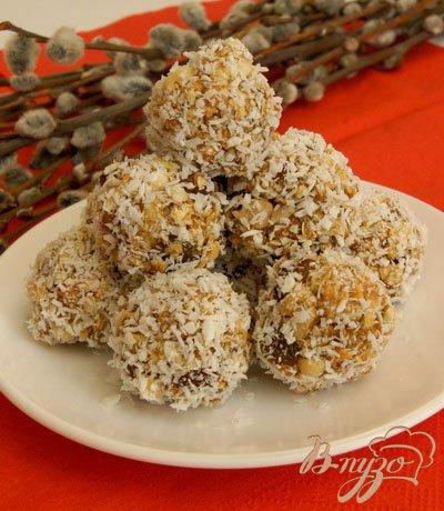 Рецепт арахисовая гранола в кокосовой стружке