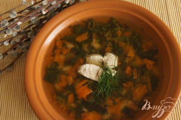 """Рецепт Суп """"Фасолинка"""" с крапивой"""