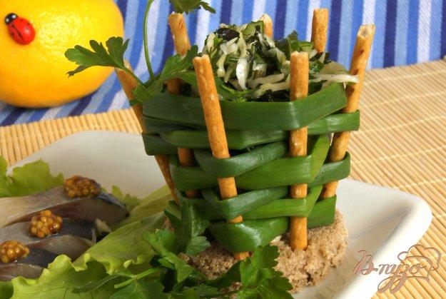 Рецепт Весенний салат с молодой крапивой