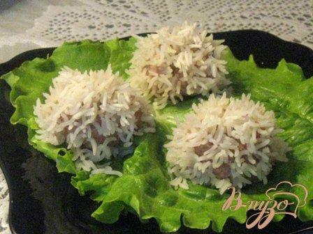 фото рецепта: Мясные ежики