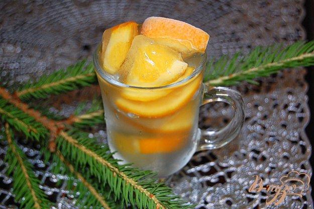фото рецепта: Напиток хвойно-апельсиновый