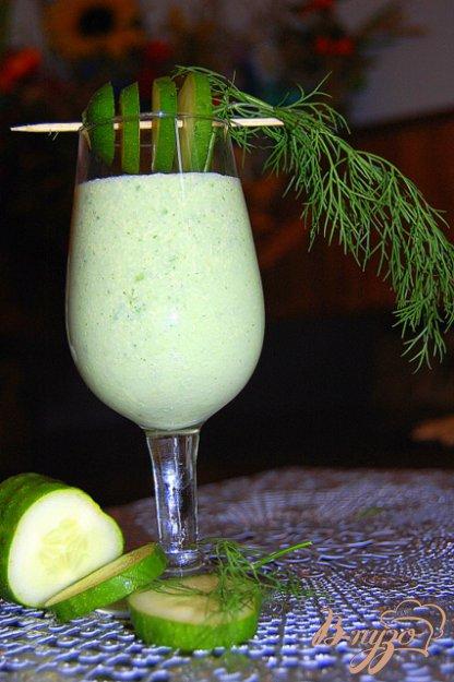 Рецепт Напиток огуречно-мелисовый с хреном