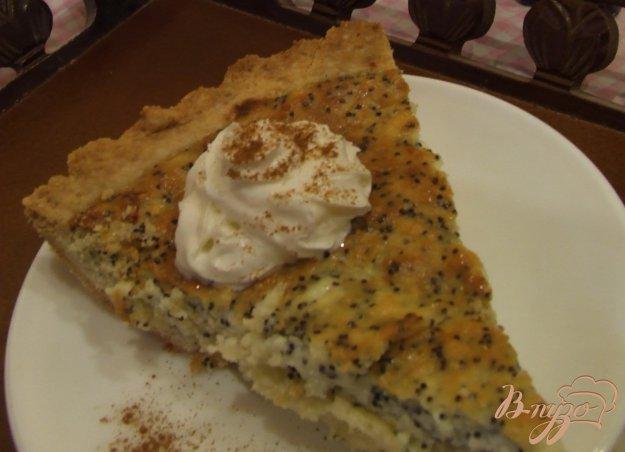 фото рецепта: Творожный тарт с маком