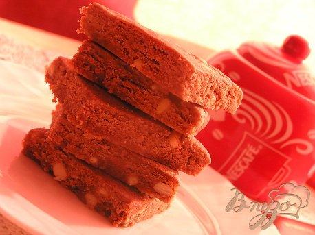 Рецепт Шортбред с шоколадом и кедровыми орешками