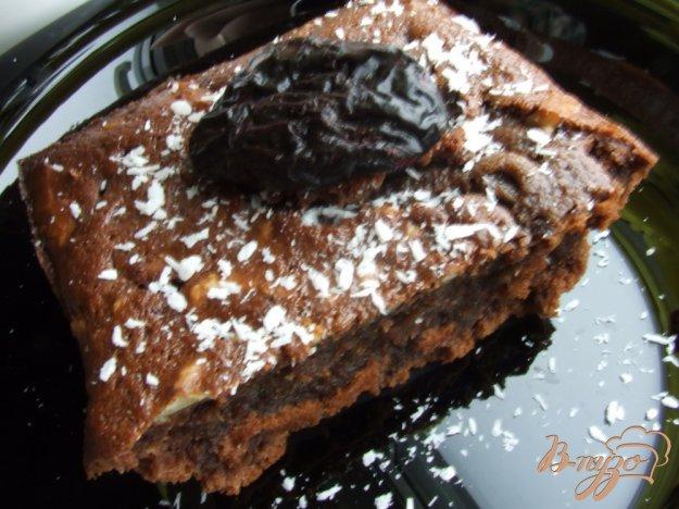 Рецепт Кекс шоколадный с грецкими орехами