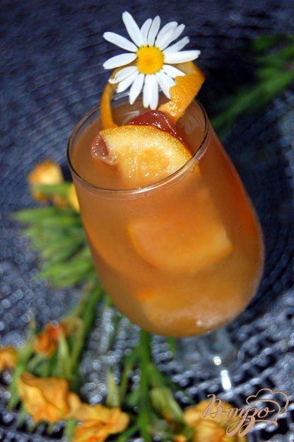 фото рецепта: Апельсиновый чай с ромашковой ноткой