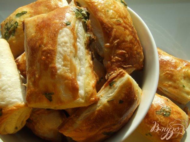 Рецепт Закусочные бульонные хлебцы