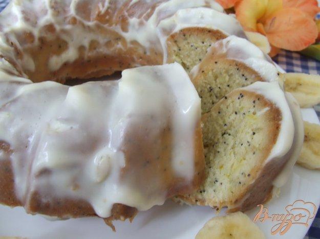 фото рецепта: Лимонный кекс с маком