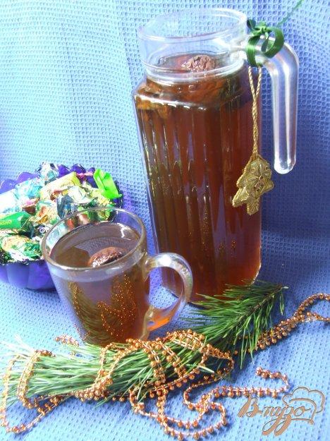 фото рецепта: Компот из сухофруктов с медом и шиповником