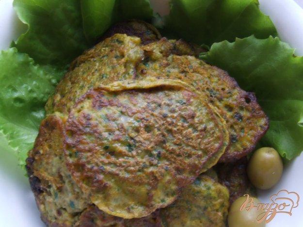 Рецепт Оладьи из тыквы со шпинатом