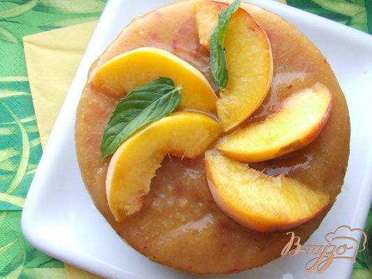 Освіжаючий персиковий сорбет з бананами і медом. Як приготувати з фото