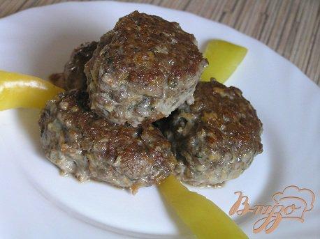Рецепт Говяжьи котлетки с паприкой от Валентино Бонтемпи