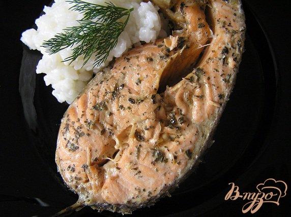 Рецепт Форель в соусе терияки с базиликом