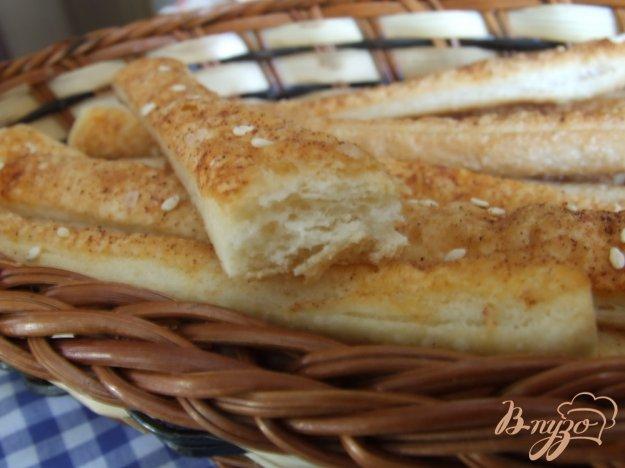 Рецепт Хлебные палочки с кунжутом