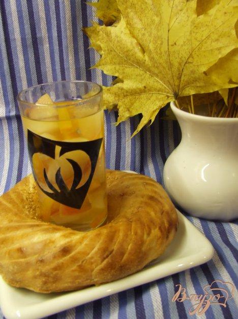 Рецепт Компот с тыквой и яблоками