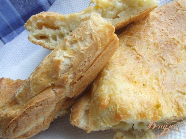 Рецепт Фокачча из заварного теста с сыром