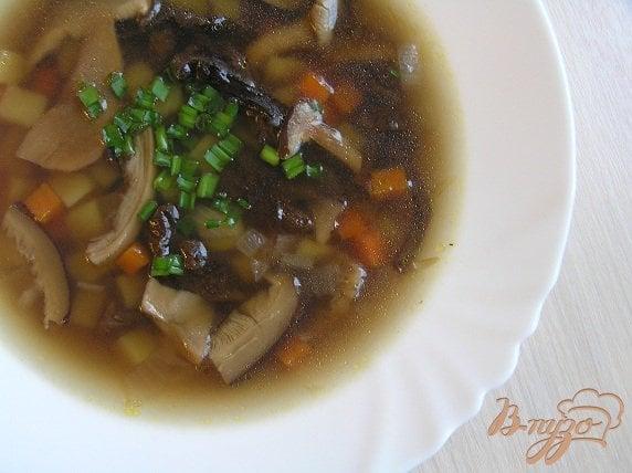 Рецепт Ароматный грибной суп (из сушеных грибов)