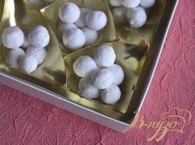 Домашние конфеты Клюква в сахарной пудре