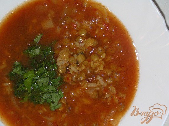 фото рецепта: Харира - марокканский густой суп