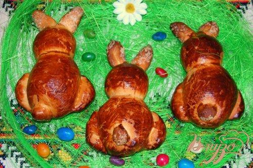Пасхальные кролики с шоколадом