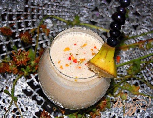 Смузи арахисово-банановый