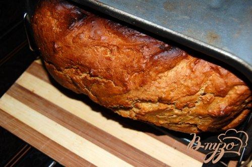 Хлеб с сухофруктами и  хлопьями
