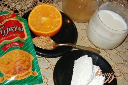 Апельсиновое молоко