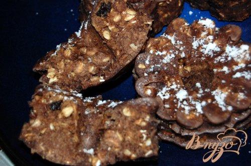 Овсяно-шоколадные кексы