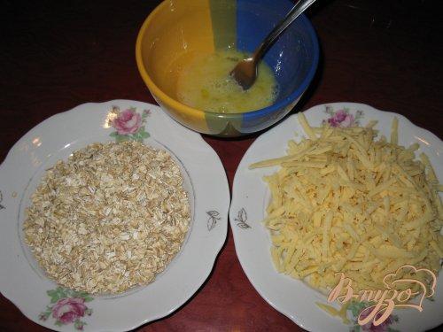 Куриные палочки (в овсяных хлопьях и сыре)
