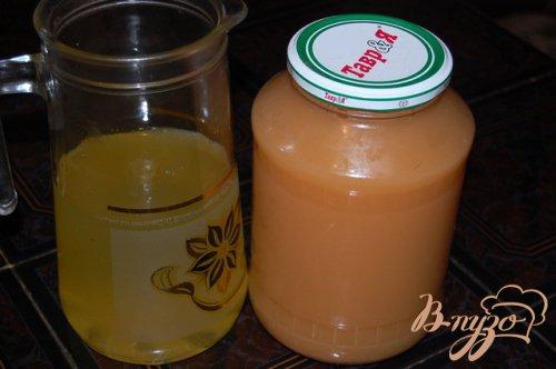 Тыквенно-яблочный напиток