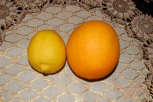 """Напиток """"Апельсиново-лимонная бомба"""""""