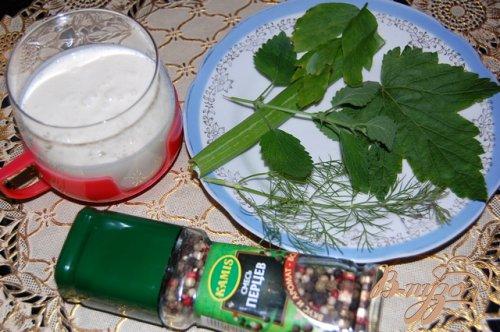 """Напиток """"Зеленое молоко"""""""