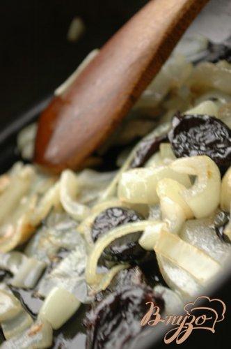 Чечевичный паштет с черносливом