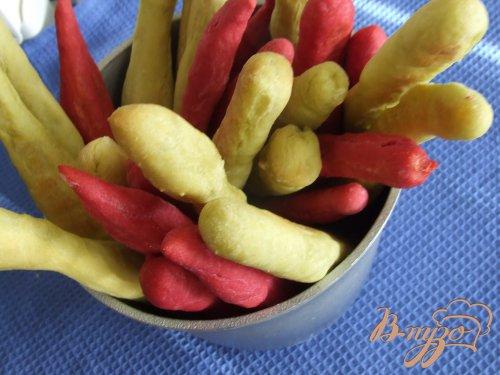 Цветные хлебные палочки (грисини)