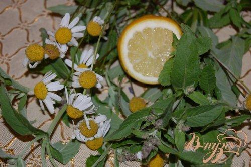 Апельсиновый чай с ромашковой ноткой
