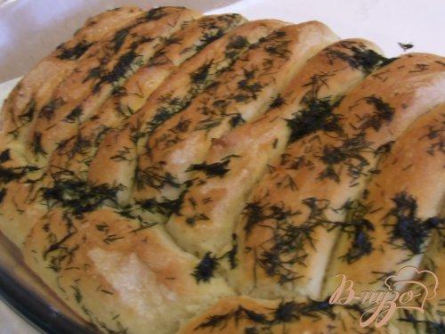 Хлебцы с укропом