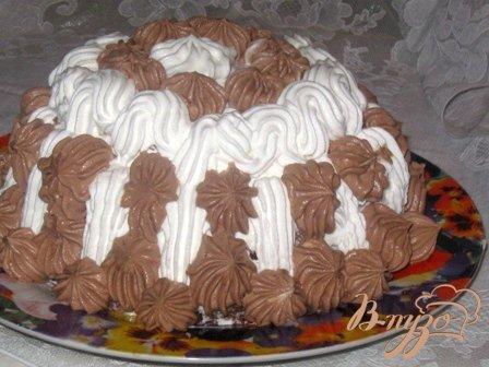 """Торт """"Шоколад на кипятке с вишней"""""""