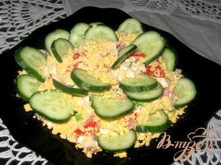 Вкусный салат «Быстрый»