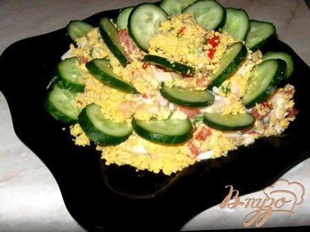 Рецепт Вкусный салат «Быстрый»