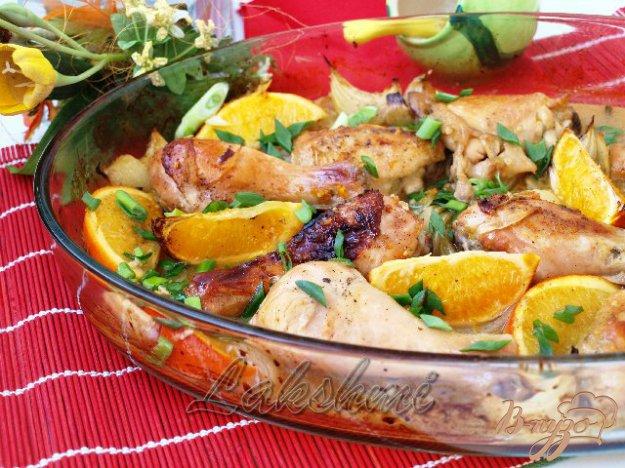 фото рецепта: Курица в апельсинах