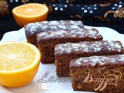 Рецепт Леках - еврейский медовый пирог