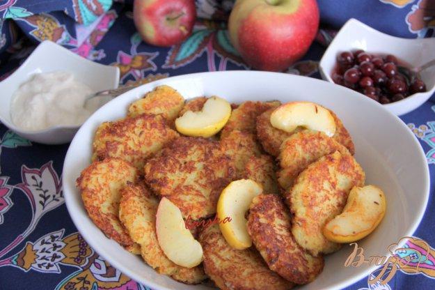 Рецепт Картофельно-яблочные драники (Puffer)