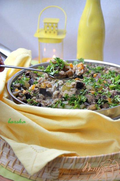 """Рецепт Рис из Луизианны или """"Грязный рис"""" каджунской кухни (США)"""