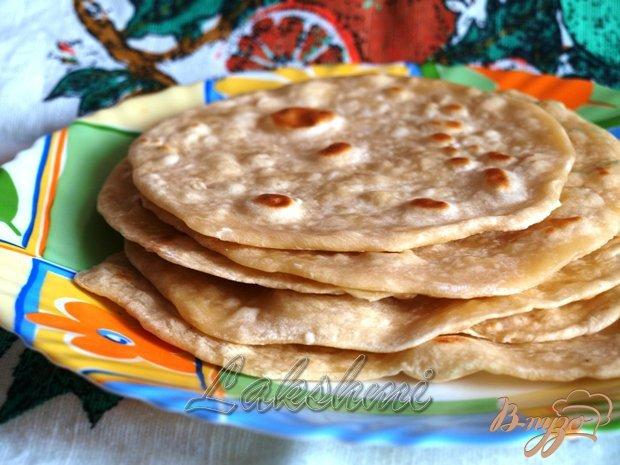 фото рецепта: Чапати - простые индийские лепёшки.
