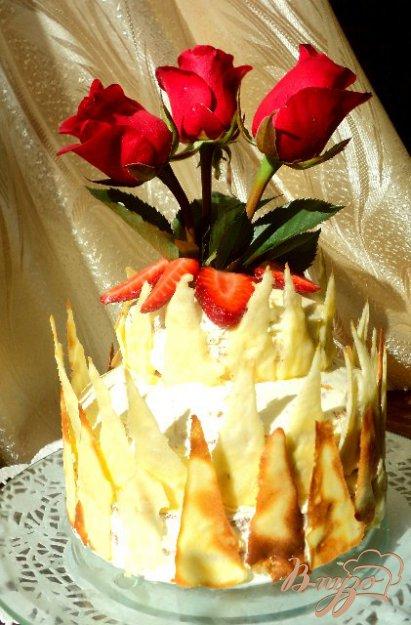 фото рецепта: Торт «Лед и пламя» от Джеймса Мартина.